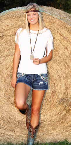 Native Denim Shorts - Pistol Annie's Boutique