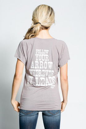 Follow Your Arrow Tee - Pistol Annie's Boutique