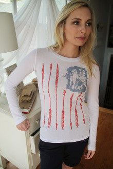 Freedom Flag Thermal - Pistol Annie's Boutique
