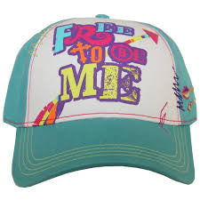 Free To Be Me Baseball Cap - Pistol Annie's Boutique