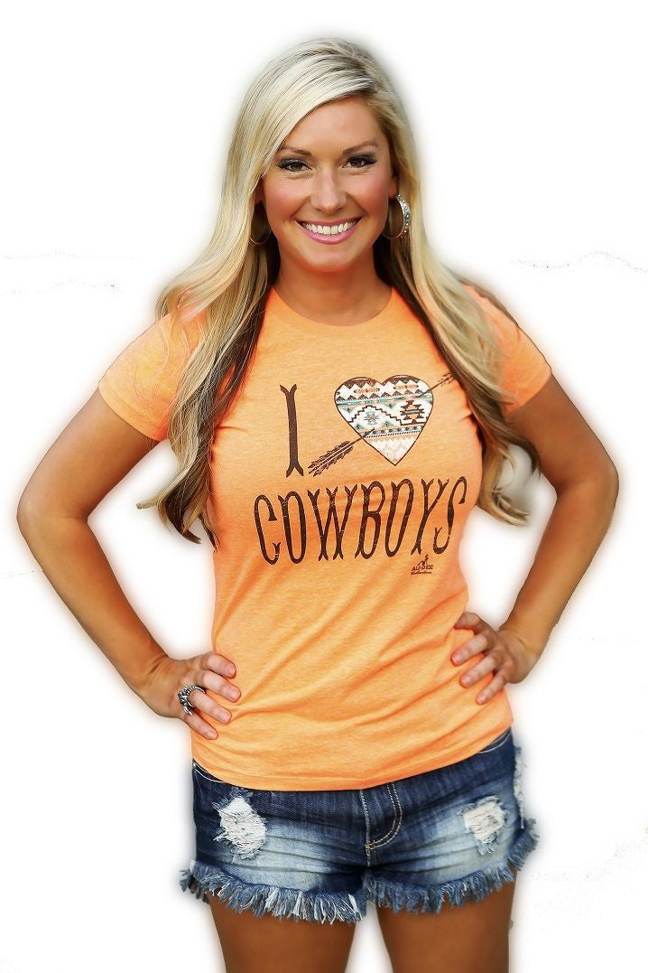 I Heart Cowboys - Pistol Annie's Boutique