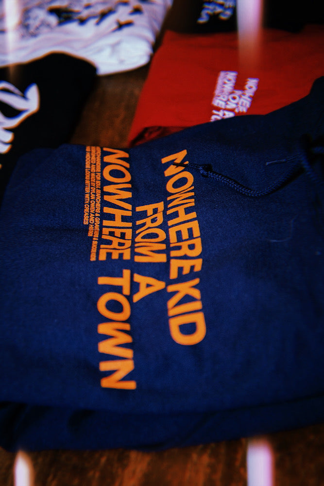 Nowhere Kid Hoodie | Navy Blue