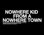 Nowhere Kid Shirt | Black (Preorder)