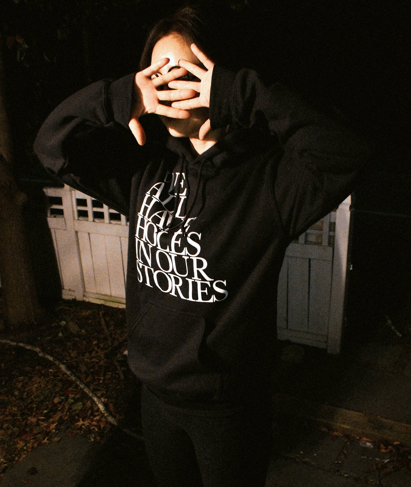 Holes In Our Stories Hoodies
