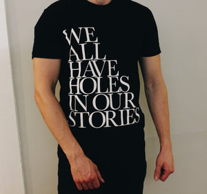 Holes In Our Stories Official Album T-Shirt