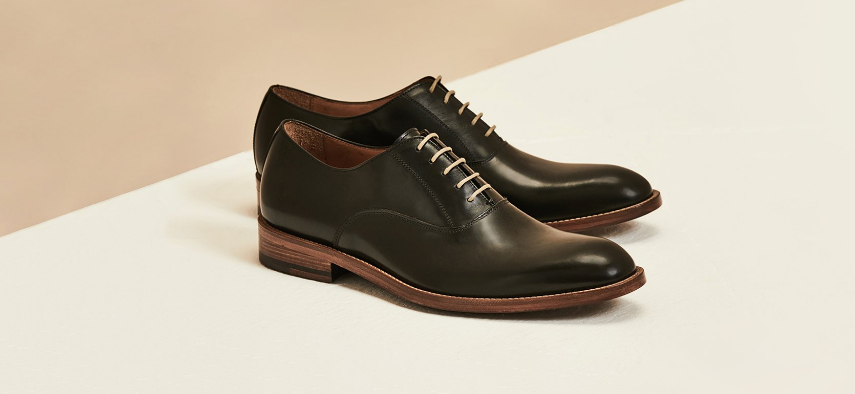 Oliver | Mens Black Leather Oxford | Business Shoe 2018