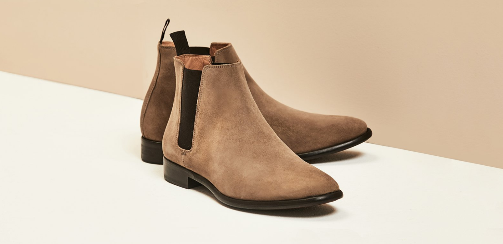 Matthews | Brown Suede Chelsea Boot | Business Shoe 2018