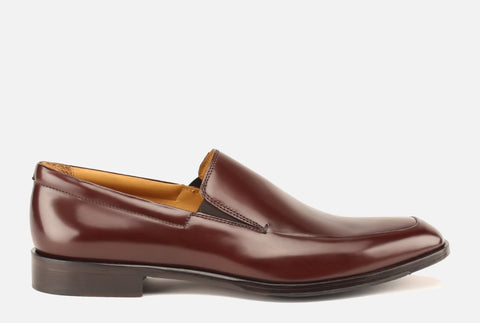 Gordon Rush Brighton II Venetian Loafer in Bourbon