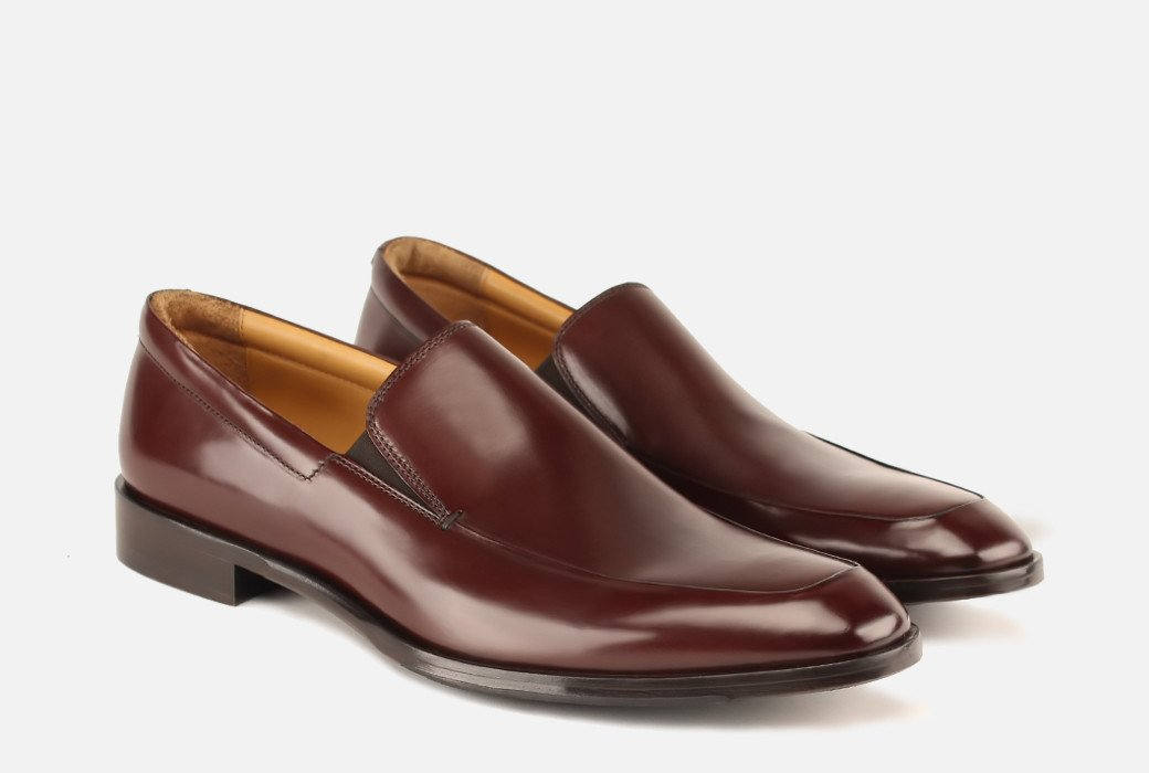 Gordon Rush/Brighton II Venetian Loafer/Bourbon Leather/Slip on shoe
