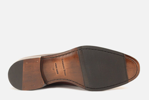 Gordon Rush Brighton II Shoe Bourbon Bottom View