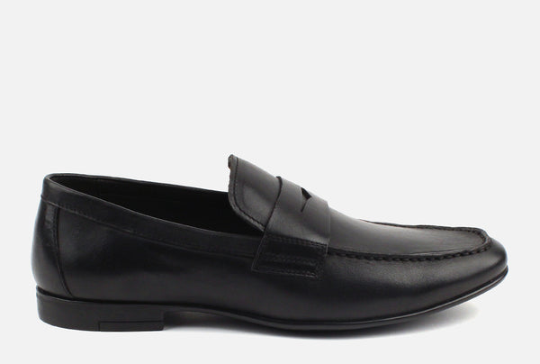 Connery -  Penny Loafer . Black