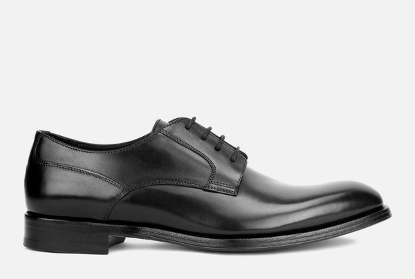 Gordon Rush Devin Derby Shoe Black Side View