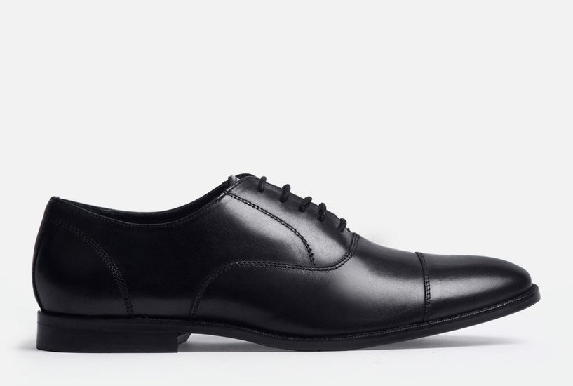 Dillon/Gordon Rush/Cap Toe/Oxford/Black