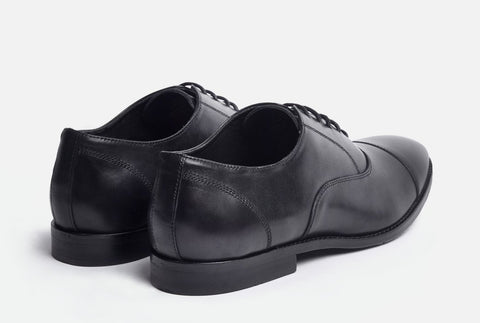 Back View of Gordon Rush Dillon Cap Toe Oxford