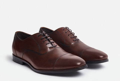 Front View of Gordon Rush Dillon Cap Toe Oxford