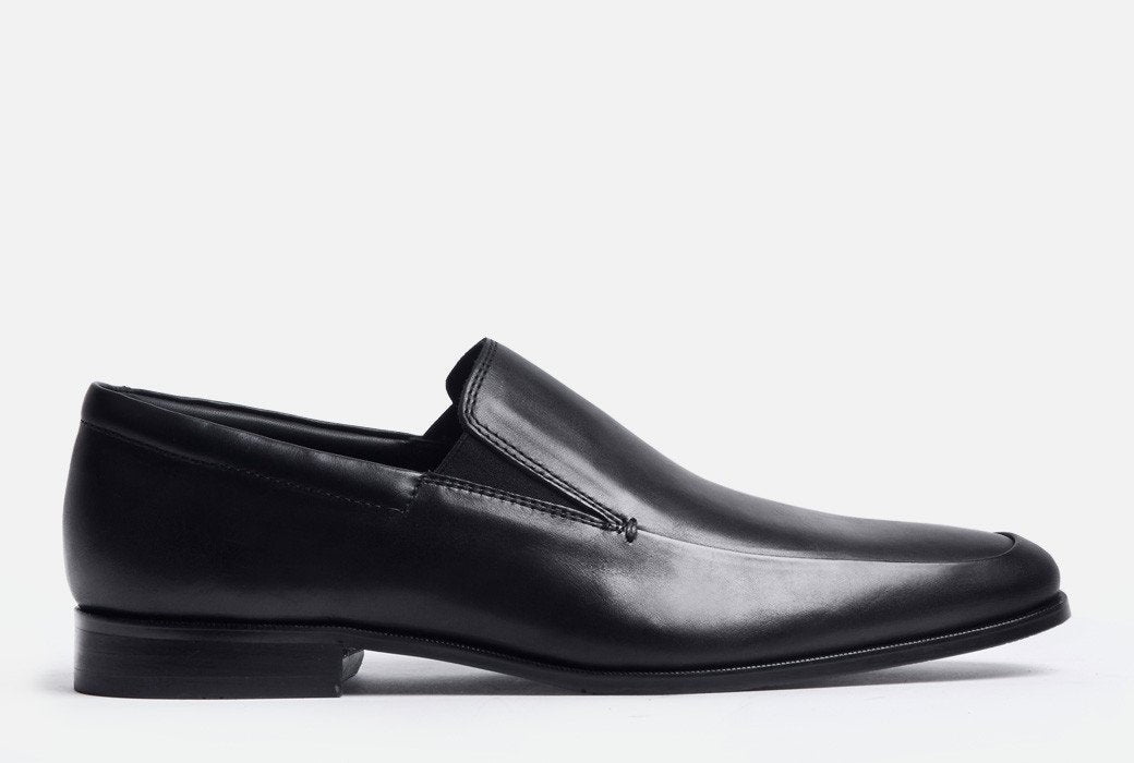 Gordon Rush Elliot Loafer Shoe Black Side View
