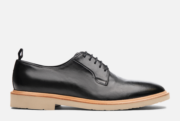 Gordon Rush Fletcher Derby Shoe in Black Side View