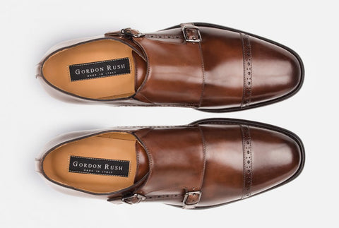 Designer Monk Strap Shoes
