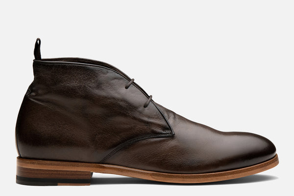 Gordon Rush Joel Chukka Boot in Chocolate Side View