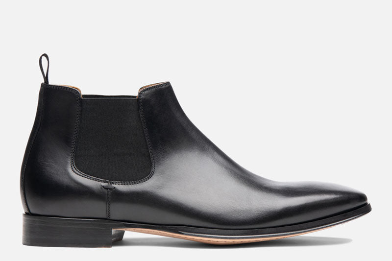 Gordon Rush Jordan Chelsea Boot Black Side View