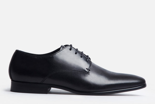 Gordon Rush Manning Derby Shoe Black Side View