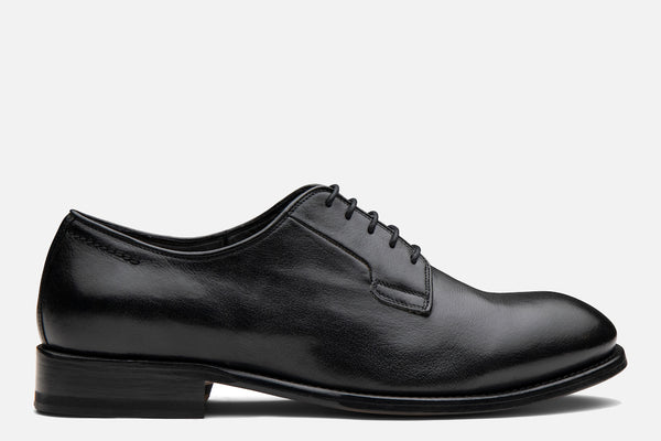 Gordon Rush Marcus Derby Shoe Black Side View