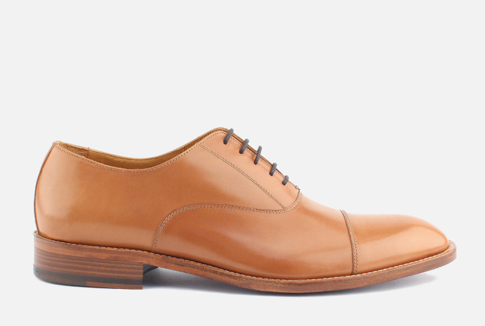 Nathan Saddle Leather Oxford