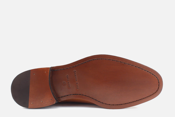Gordon Rush Nathan Oxford Shoe Saddle Bottom View