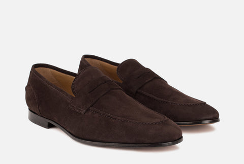 Otis | Dark Brown Penny Loafer - Gordon Rush