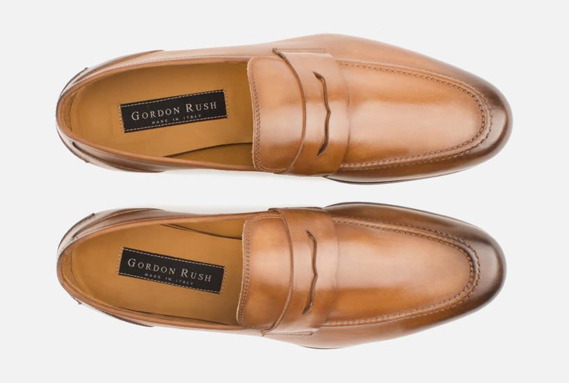 Mens Premium Leather Loafer