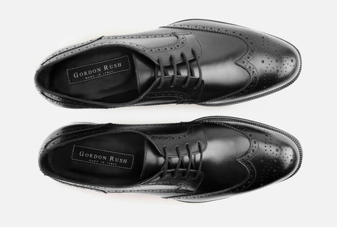 Mens Luxury Leather Wingtip