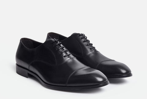 Front View of Gordon Rush Evans Cap Toe Oxford