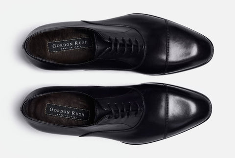 Aerial View of Gordon Rush Evans Cap Toe Oxford