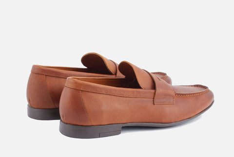 Phillips Cognac Penny Loafer