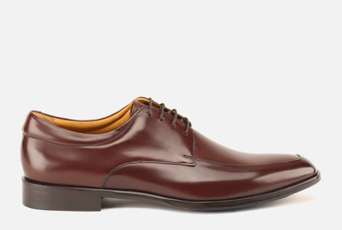 Gordon Rush men's shoes - Reading II Apron Toe Derby in Bourbon