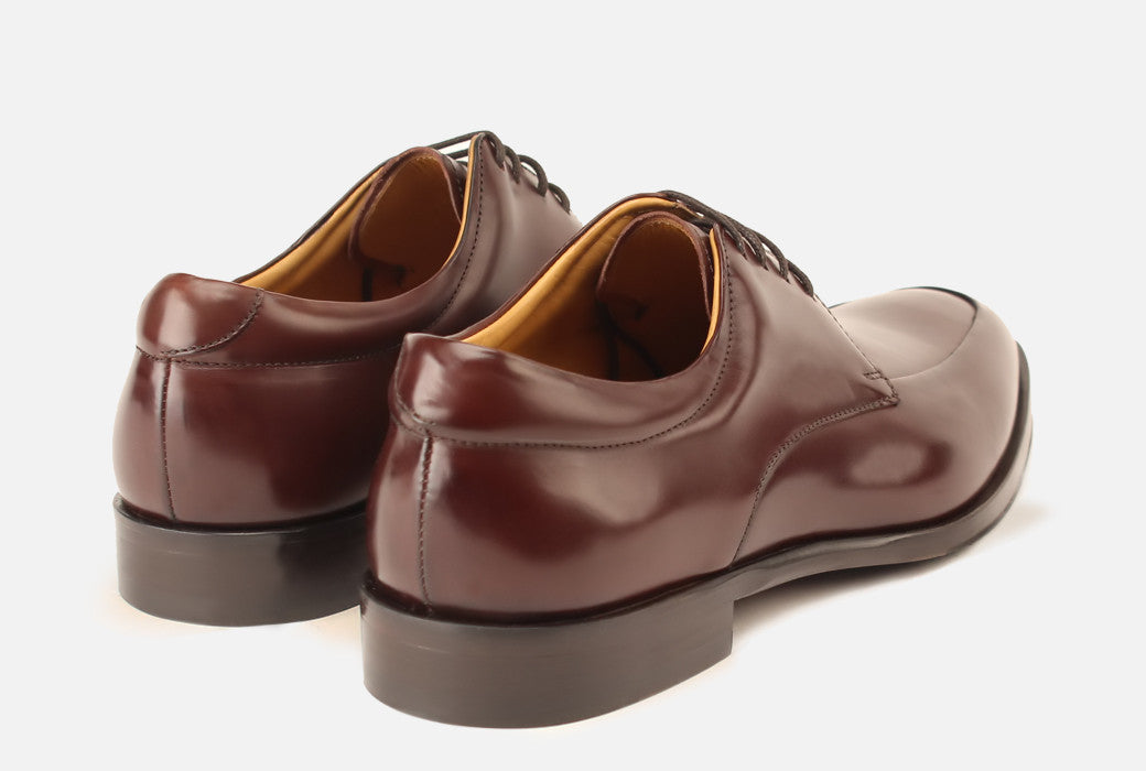 Gordon Rush Reading II Bourbon Shoe Rear View Pair