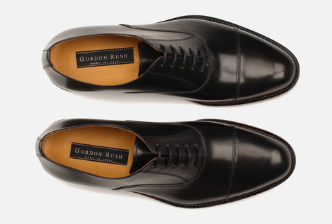Aerial View of Gordon Rush Nathan Cap Toe Oxford