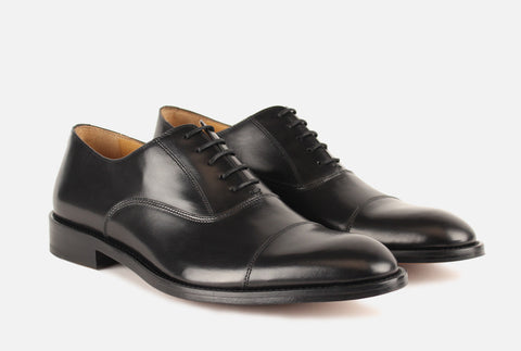 Front View of Gordon Rush Nathan Cap Toe Oxford