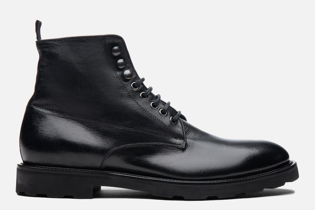 Gordon Rush Hunter Lace-Up Boot in Black Side View