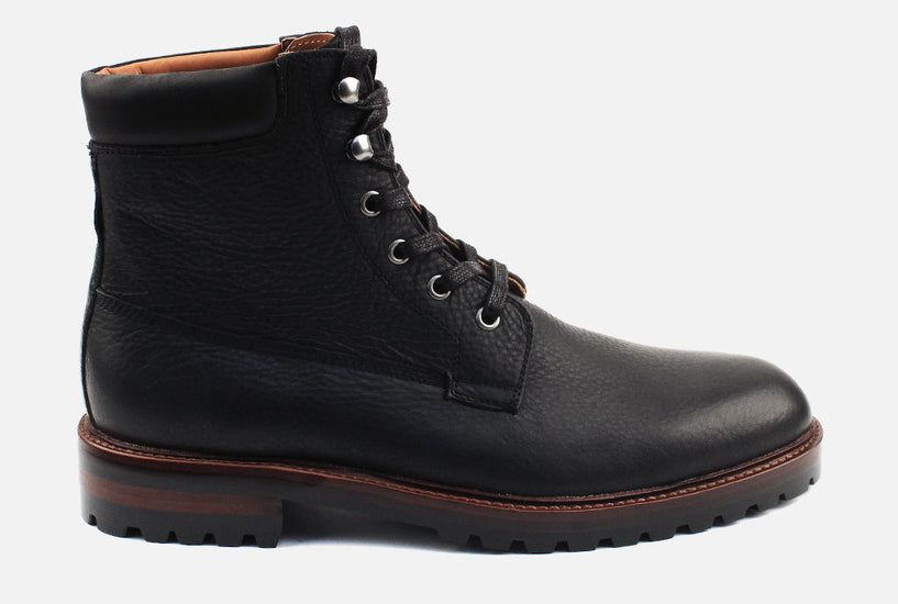 Virgil - Lace Up Boot . Black