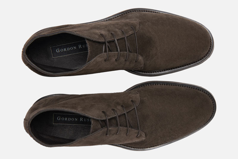 Gordon Rush Wesley Chukka Boot Dark Taupe Top View