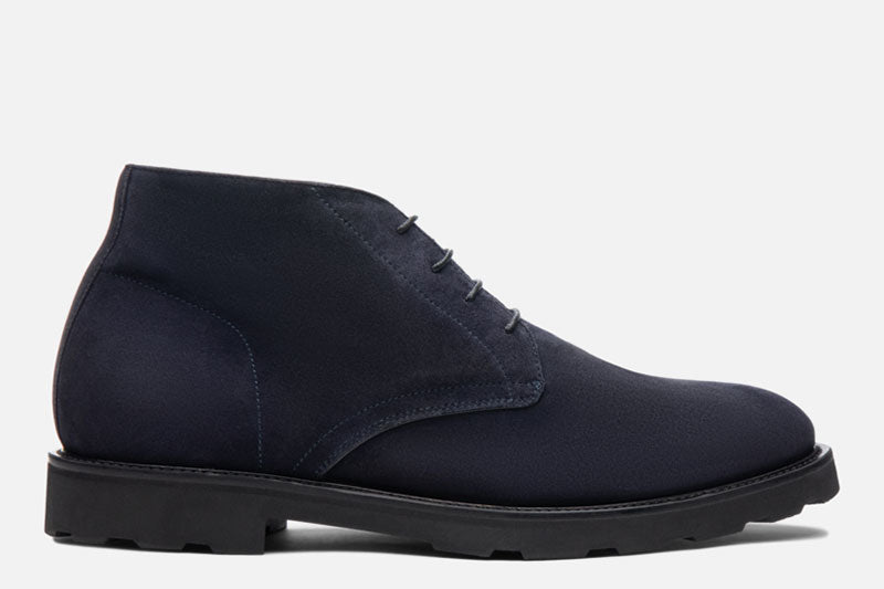 Gordon Rush Wesley Chukka Boot Navy Side View