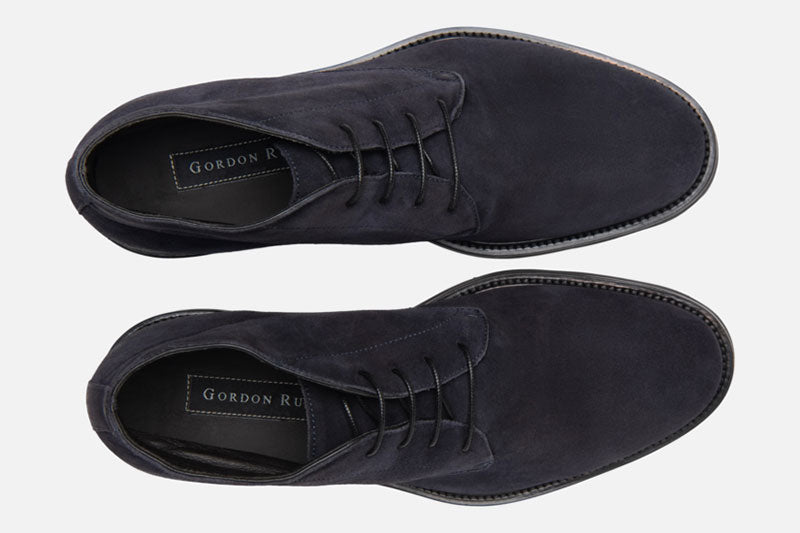 Gordon Rush Wesley Chukka Boot Navy Top View