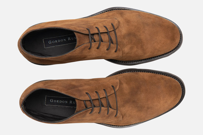 Gordon Rush Wesley Chukka Boot Tan Top View