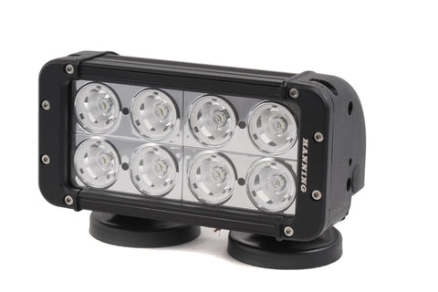 "8"" Dual Row LED Light Bars"