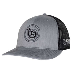 Signature Puff Logo Hat: Heather Gray/Charcoal
