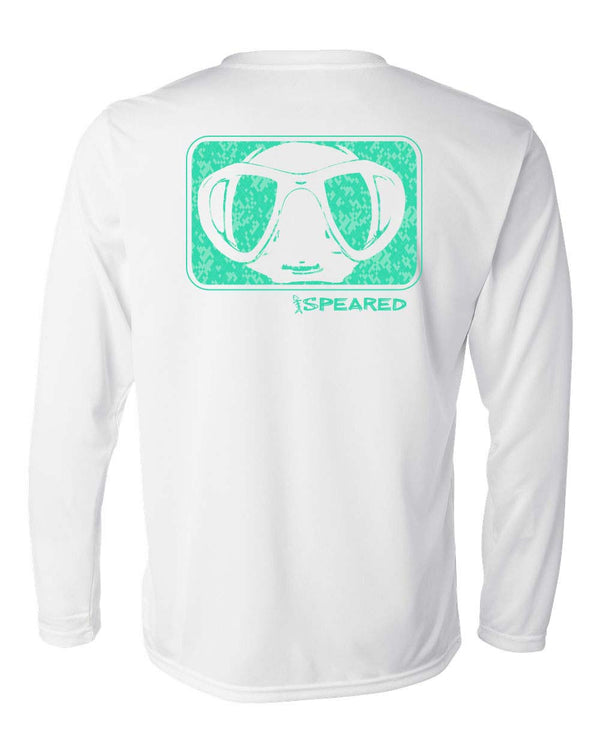 Speared Camo Mask UV Shirt