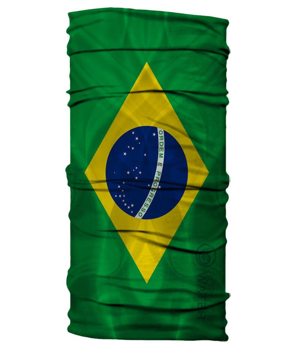 Neck Gaiter - Brazil Flag