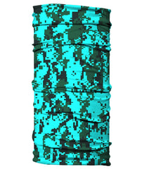 Neck Gaiter - Digital Camo Camouflage - Sea Green