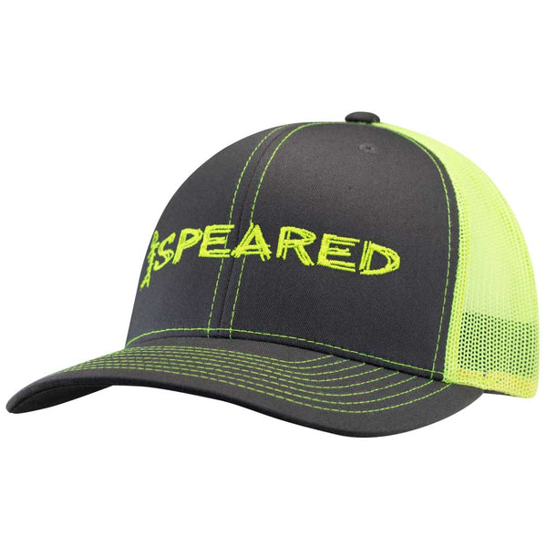 Speared Neon Trucker Hat - Yellow